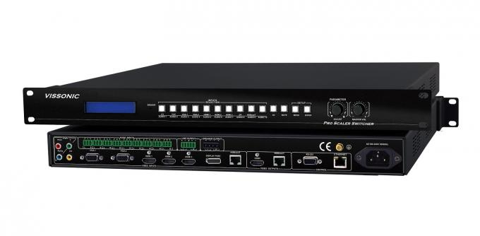 Multi Type Signal Input Hdmi Scaler Switcher For Multi Media Conference Room / Schools