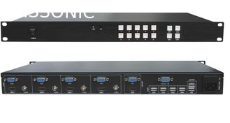 China HDMI 1.4 Compliant Multi Format Switcher Scaler Supports USB Keyboard / Mouse supplier