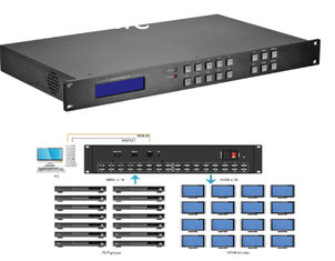 China UHD4Kx2K HDMI Seamless Matrix Switcher 8x8 High Speed Switching IOS App Control supplier