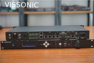 China VISSONIC Full Digital Networked DSP Conference Processor / Microphone Array System Vis-DCP2000-R supplier