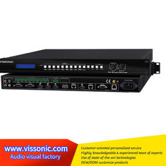 China Multi Type Signal Input Hdmi Scaler Switcher For Multi Media Conference Room / Schools supplier