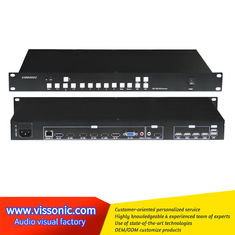 China Black Color Video 4K Multi Viewer KVM For Supporting Multiple Sources supplier
