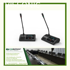 China Audio Conference Microphone 5G WiFi Wireless Digital Discussion Chairman / Delegate Unit supplier