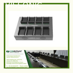 China Lightweight Charger Box For Audio Conference Microphone Unit Battery 8pcs Battery Charger In One Time supplier