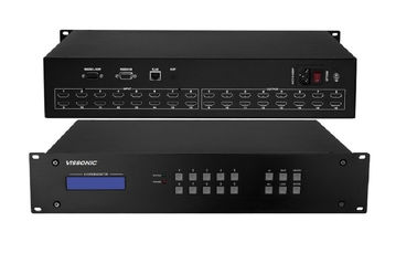 China High Speed Switching UHD4Kx2K HDMI 16x16 Matrix Switcher With WEB GUI And IOS Control factory