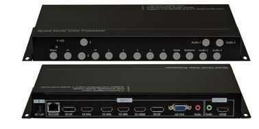 China 7x1 Multiviewer Video Scaler Switcher , Audio Video Switcher With Remote factory