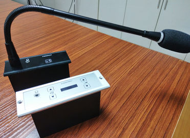 China Portable Audio Conference Microphone With Gooseneck 3.5mm Stereo Headphone Jack distributor