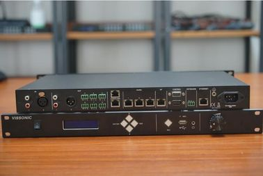 China VISSONIC Full Digital Networked DSP Conference Processor / Microphone Array System Vis-DCP2000-R distributor