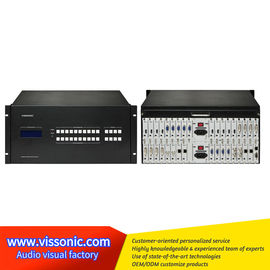 China Scalable Videowall Processing Seamless Matrix Switcher For Videowalls Seamless Switching factory