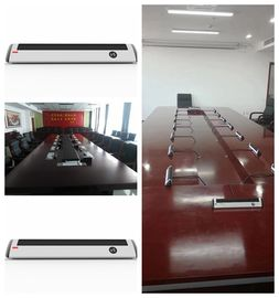 China Full Digital Conference Room Microphone Array Congress Microphone Black Color distributor